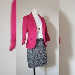H&M Zebra Print Skirt